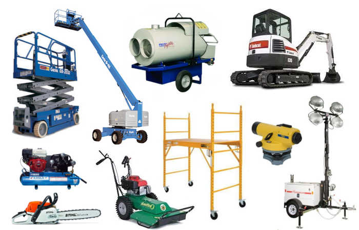 Construction equipment and tool rentals in Ladner & Tilbury BC