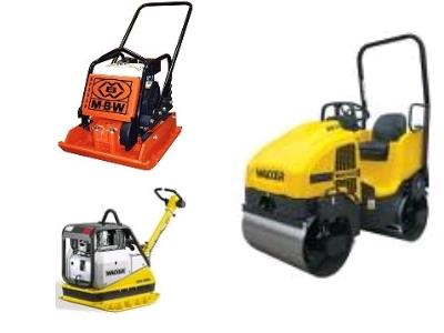 Compaction Equipment Rentals in Delta BC, Surrey BC, Richmond BC, New Westminster BC, Langley BC, White Rock BC, Coquitlam BC, and Vancouver BC