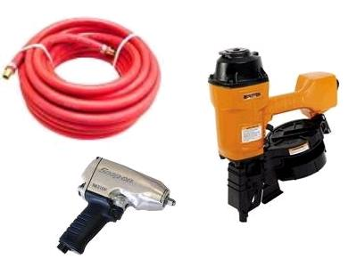 Rent air compressor and air tool