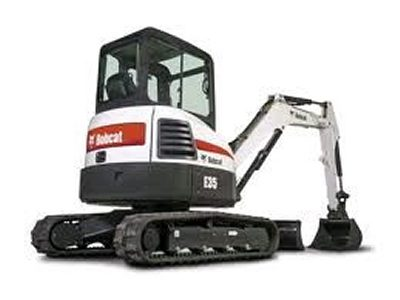 Rent earthmoving excavating