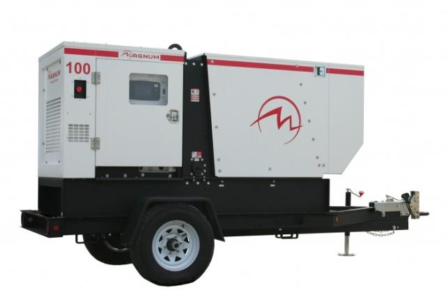 Rental store for generator 100kva 600v trailer mounted in Vancouver BC