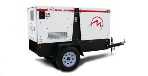 Rental store for generator 25kva towbehind in Vancouver BC