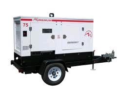 Rental store for generator 75kva 600v trailer mounted in Vancouver BC