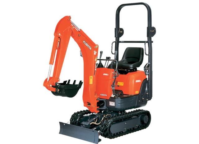 Rental store for mini excavator 2200lb 1 ton 34 inch wide in Vancouver BC