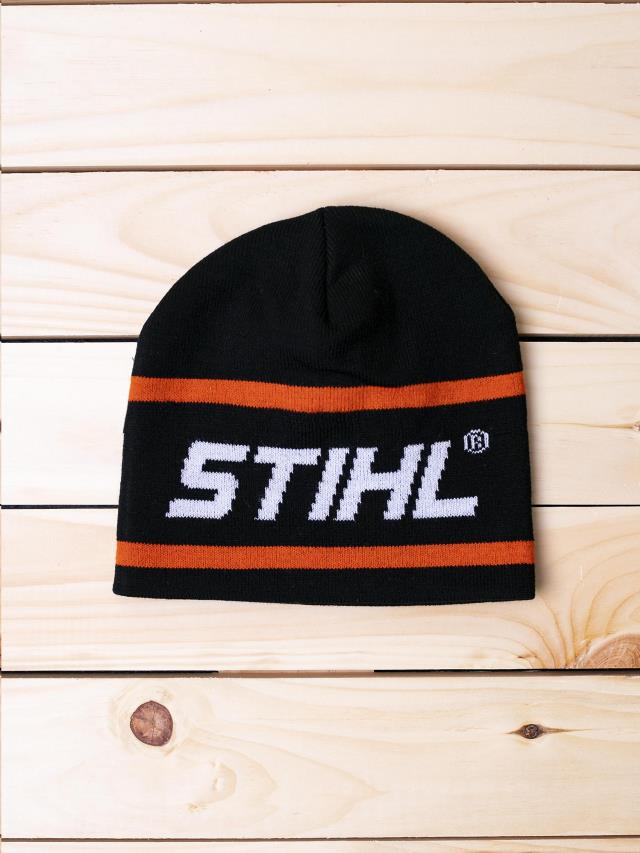 Used equipment sales rib knit double layer stihl knit beanie in Vancouver BC