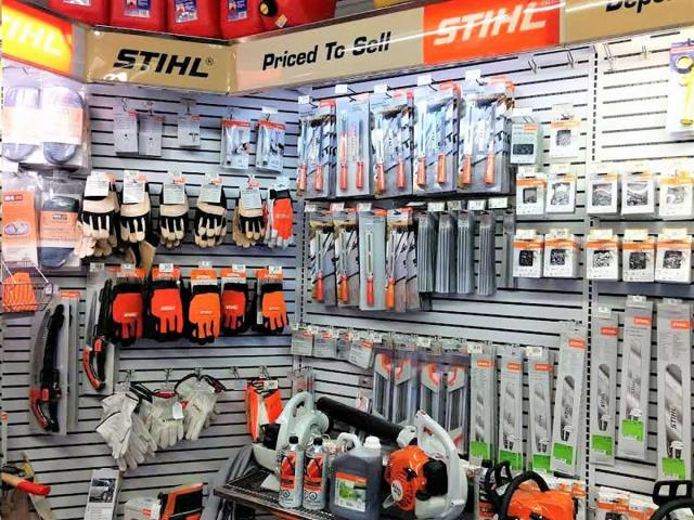 Rent sales stihl accessories