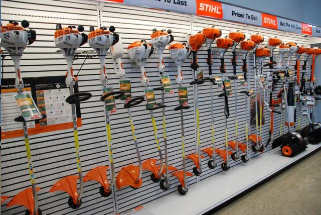 Rent sales stihl equipment
