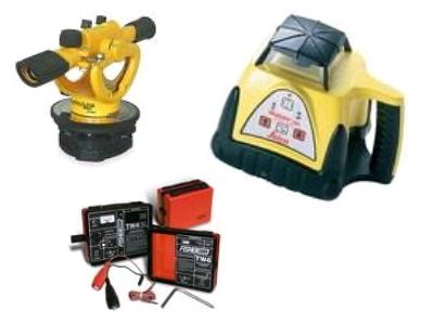 Rent survey equipment